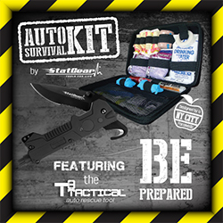 Auto Survival Kit by Stat Gear - Be Prepared